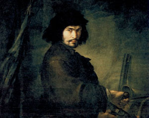 Salvator Rosa 'Autoritratto'